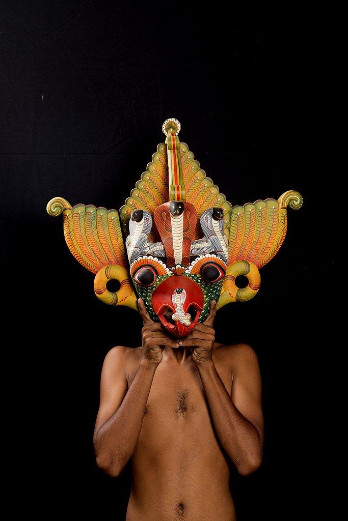 sri lanka - the mask